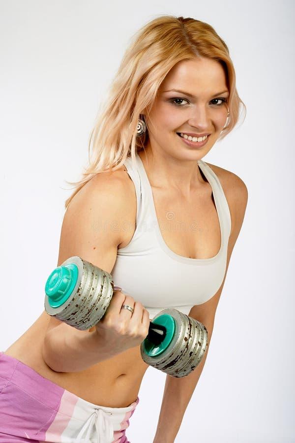 Femme actif. photos stock