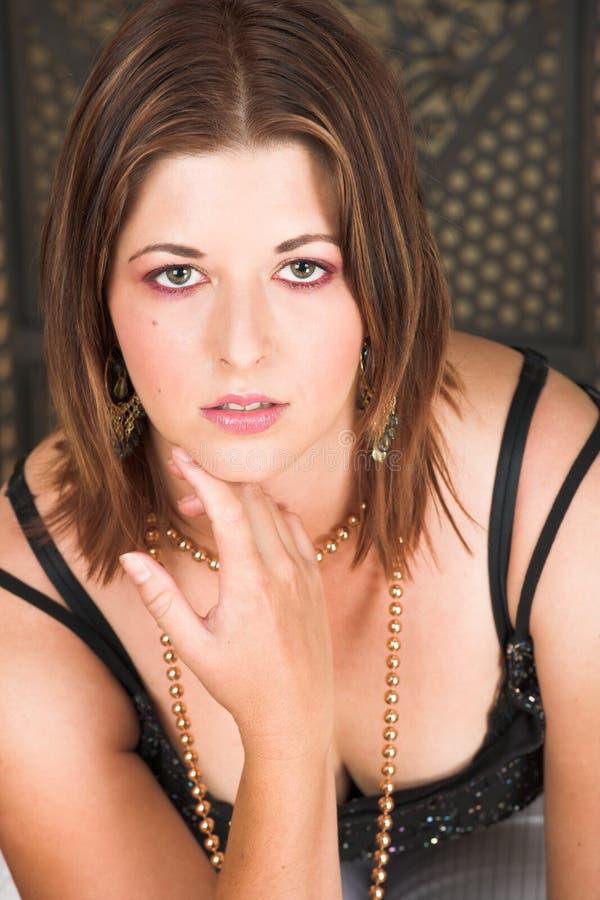Femme adulte sexy image libre de droits
