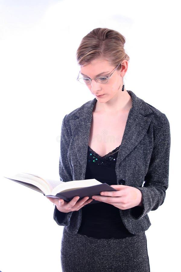 Femme - affaires, professeur, avocate, étudiante, etc. photographie stock