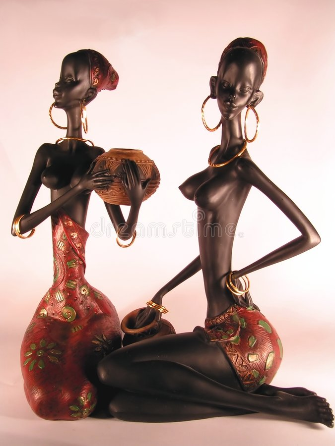 Femme africain images libres de droits