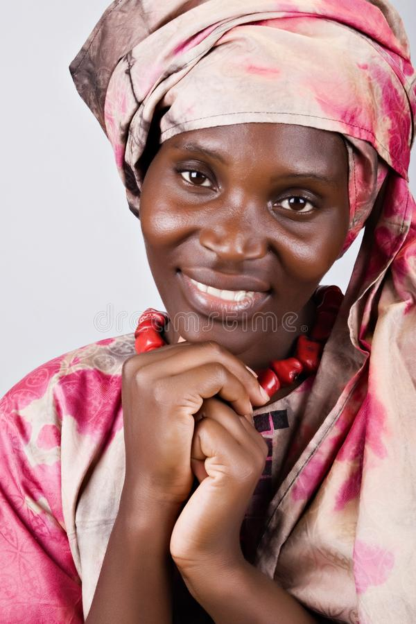 Femme africain photo stock