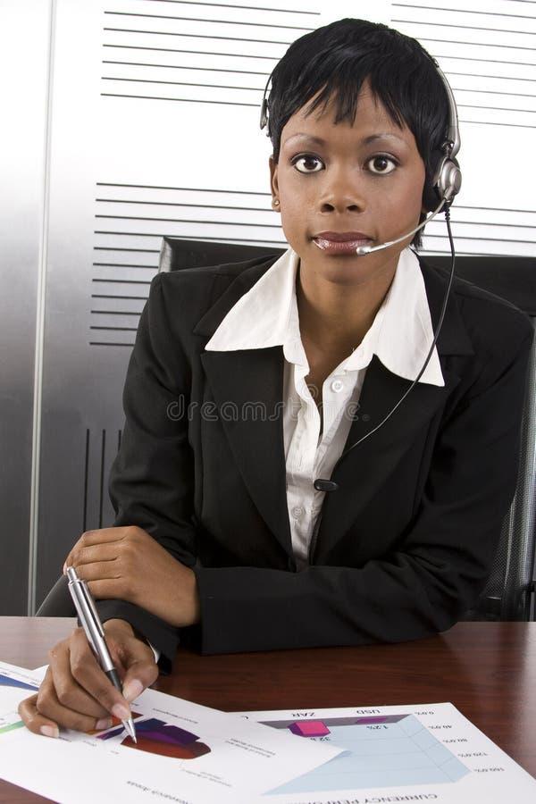 Femme africaine d'affaires photo libre de droits