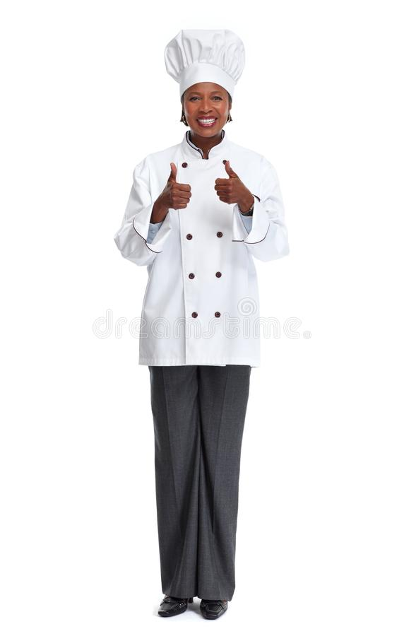 Femme africaine de chef photo libre de droits