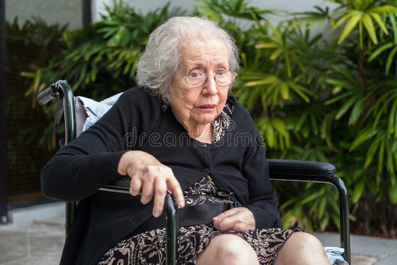 Femme agée photographie stock