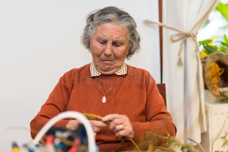 Femme agée photographie stock libre de droits