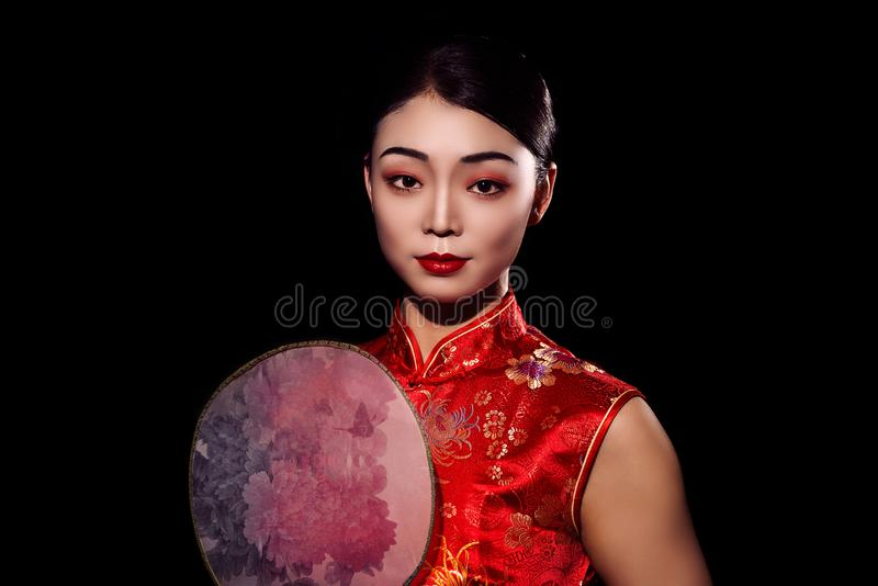 Femme asiatique photo stock