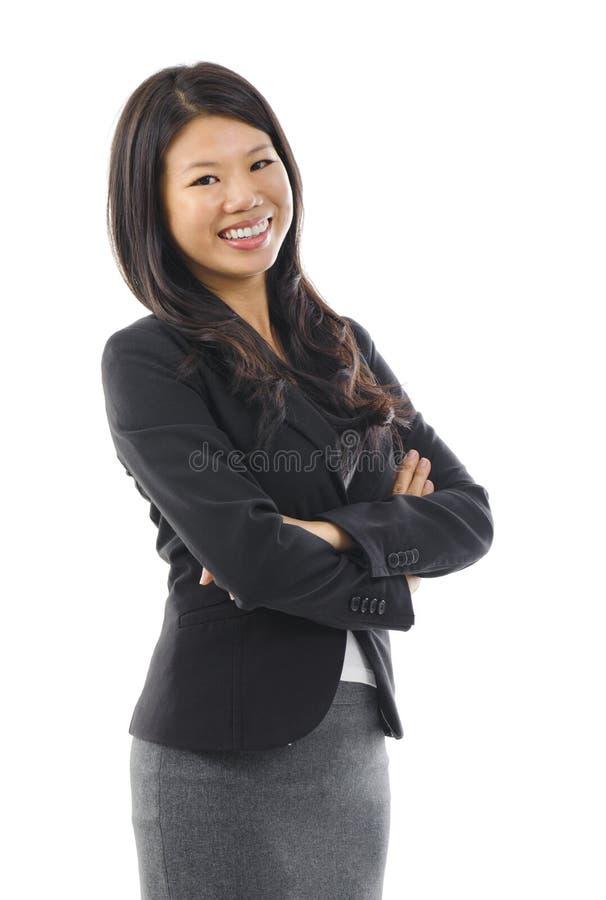 Femme asiatique. image stock