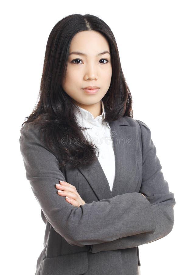 Femme asiatique d'affaires photo stock
