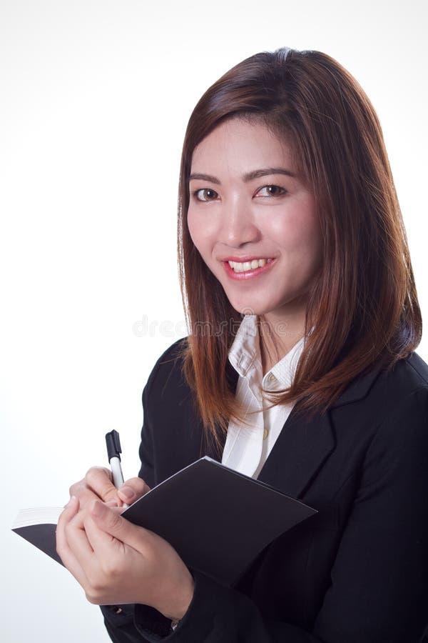 Femme asiatique d'affaires photos libres de droits