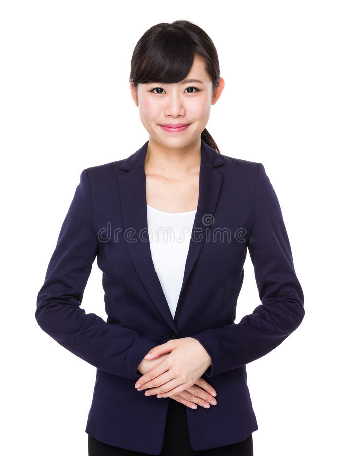 Femme asiatique d'affaires photos stock