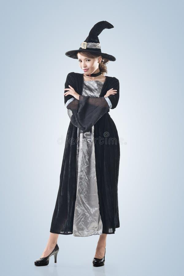 Femme asiatique de sorcière images libres de droits