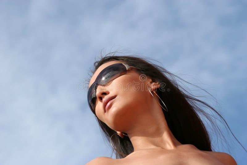 Femme asiatique sexy image libre de droits