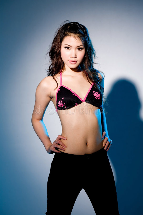 Femme asiatique sexy photo stock