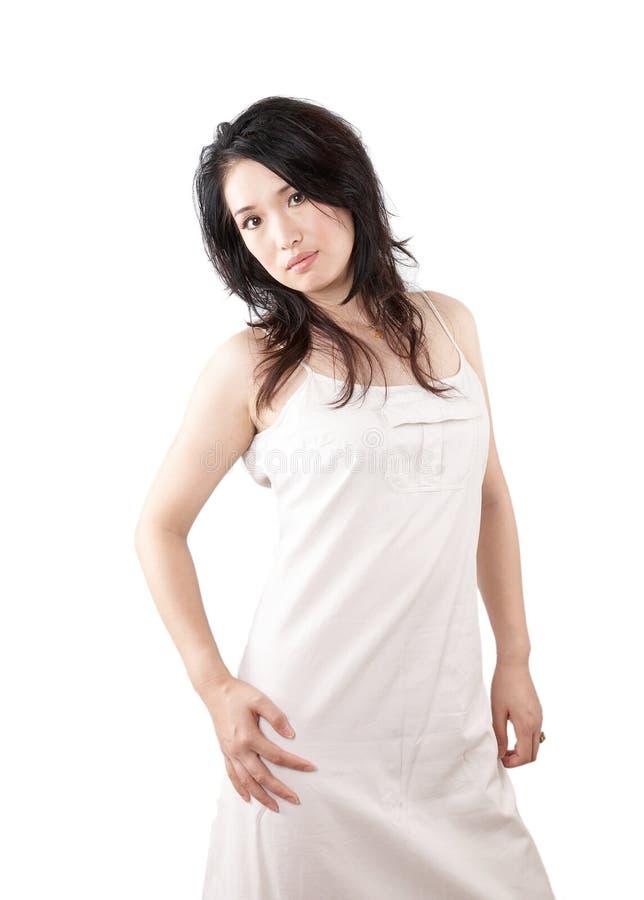 Femme asiatique sexy photographie stock libre de droits