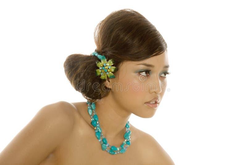 Femme asiatique sexy magnifique image libre de droits