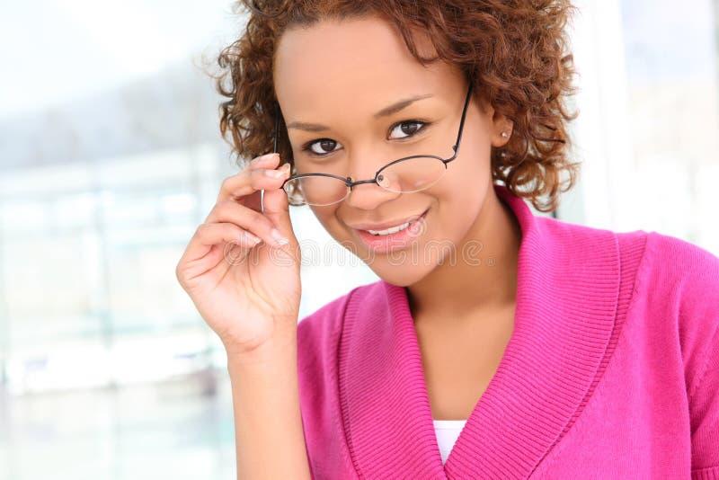 Femme assez africaine d'affaires photos libres de droits
