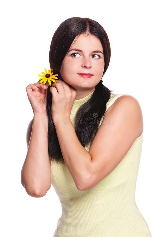 Femme assez jeune images libres de droits