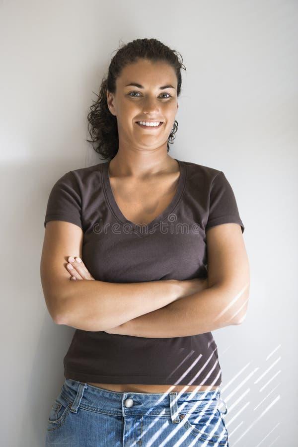 Femme assez jeune. photo libre de droits