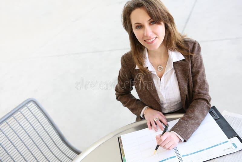Femme assez russe d'affaires photos stock