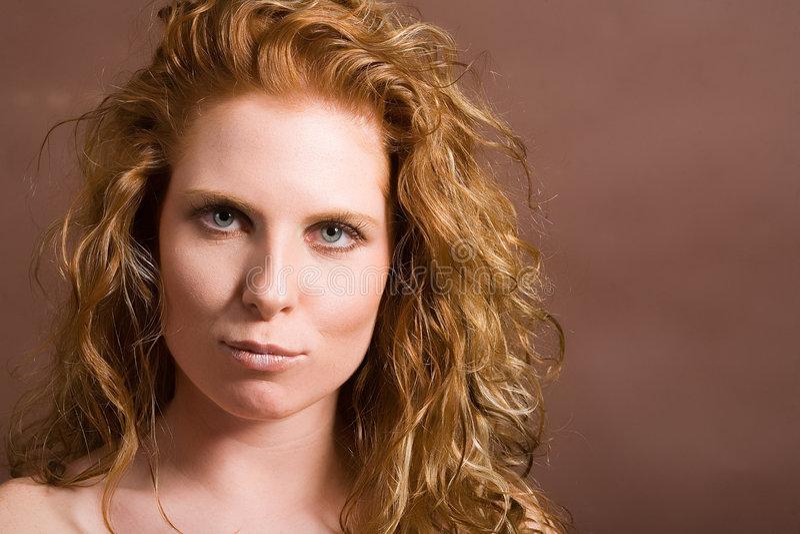 Femme attirant photo libre de droits