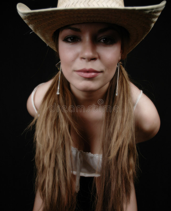 Femme attirant photos libres de droits