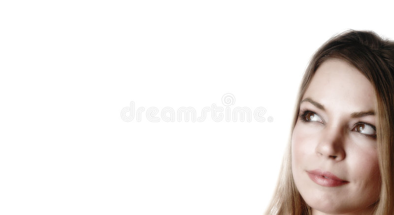 Femme attirant photo stock