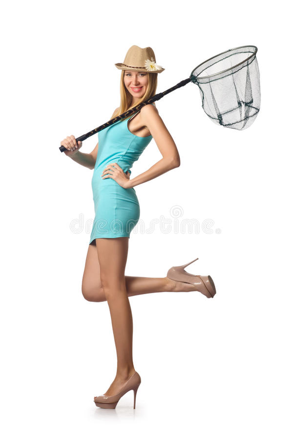 Femme Attirante Photographie stock libre de droits