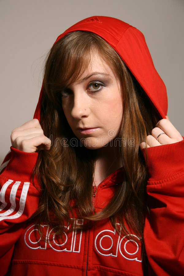 Femme attirante sportive photographie stock