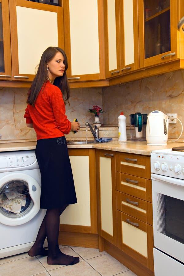 Femme au foyer photos libres de droits