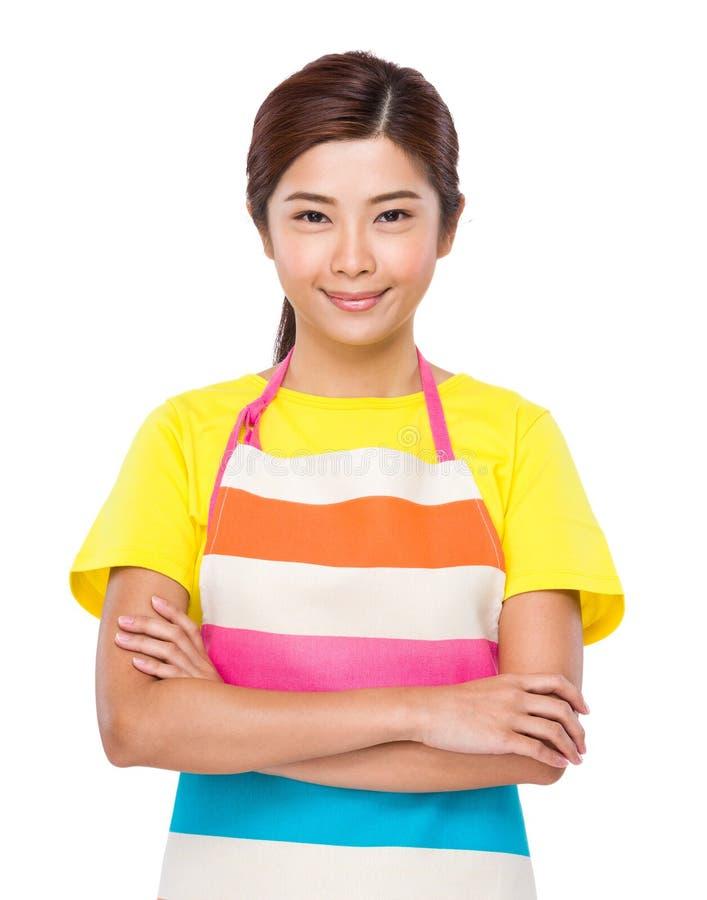 Download Femme au foyer asiatique photo stock. Image du fille - 45365710
