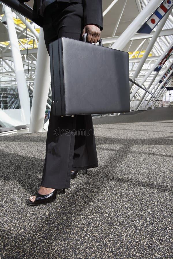 Femme avec la serviette photos libres de droits