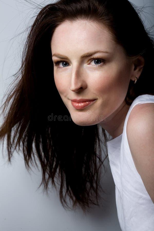 Femme avec le beau cheveu photos stock