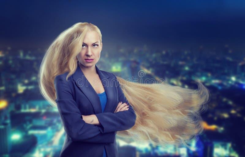 Femme avec le long cheveu photos libres de droits