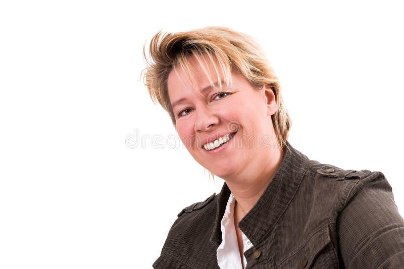 Femme blond photographie stock