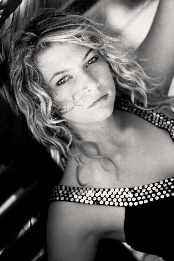 Femme blond images libres de droits