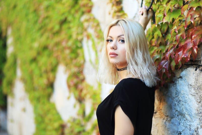 Femme blond image libre de droits
