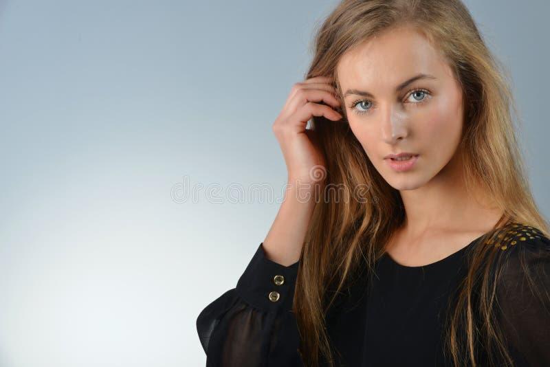 Femme blonde image libre de droits