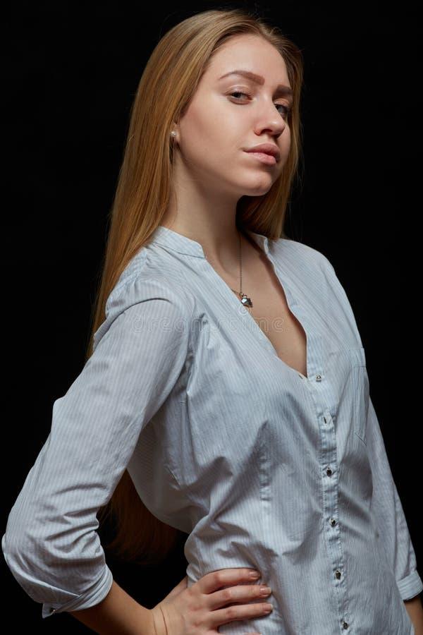 Femme blonde sensuelle photos libres de droits