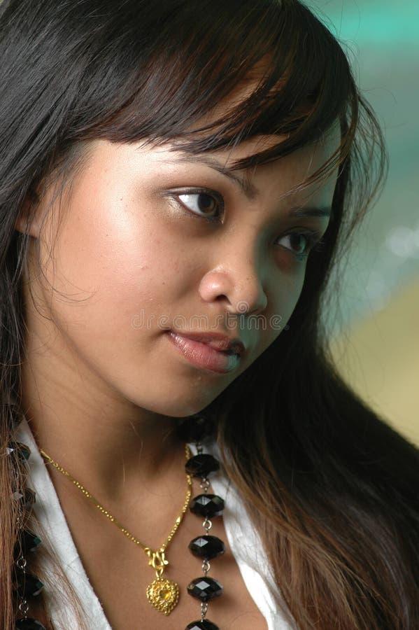 Femme cambodgien images stock