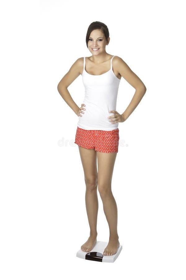 Femme caucasien photo stock