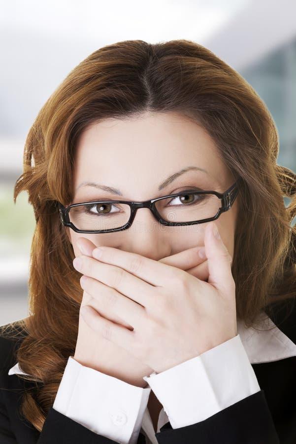 Femme choquée images libres de droits