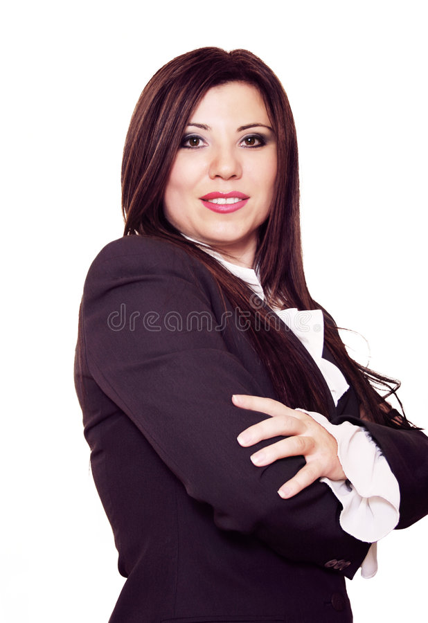 Femme confiant image stock