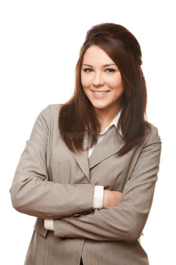 Femme confiante d'affaires image libre de droits