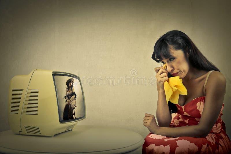 Femme déplacée photographie stock libre de droits