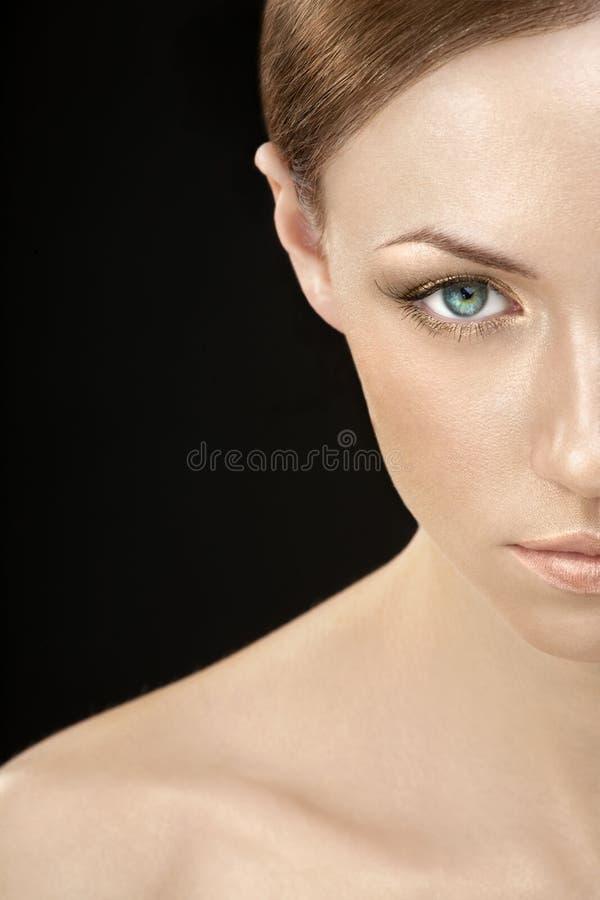 femme d'or photo libre de droits