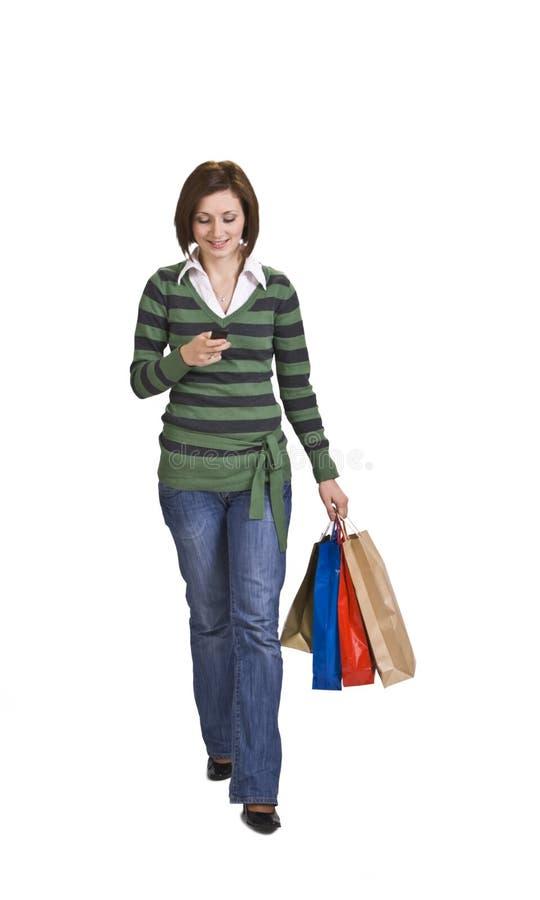 femme d'achats photos libres de droits