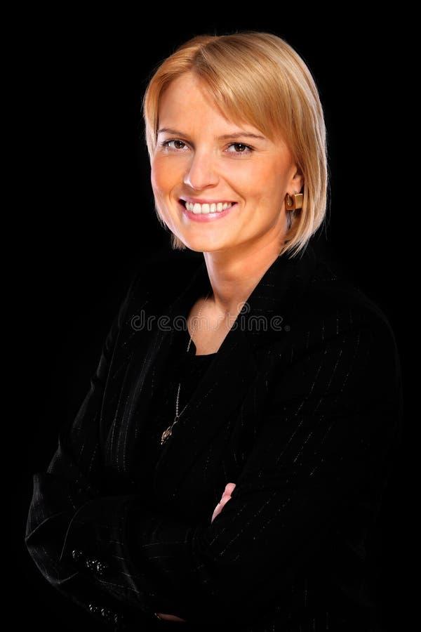 Femme d'affaires élégante photos libres de droits