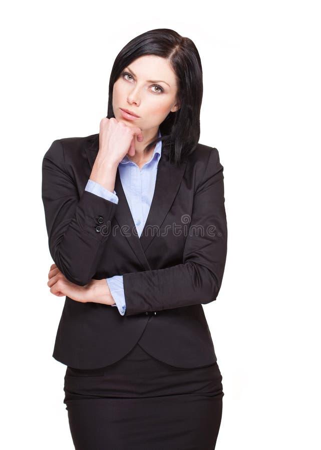 Femme d'affaires élégante. photos libres de droits