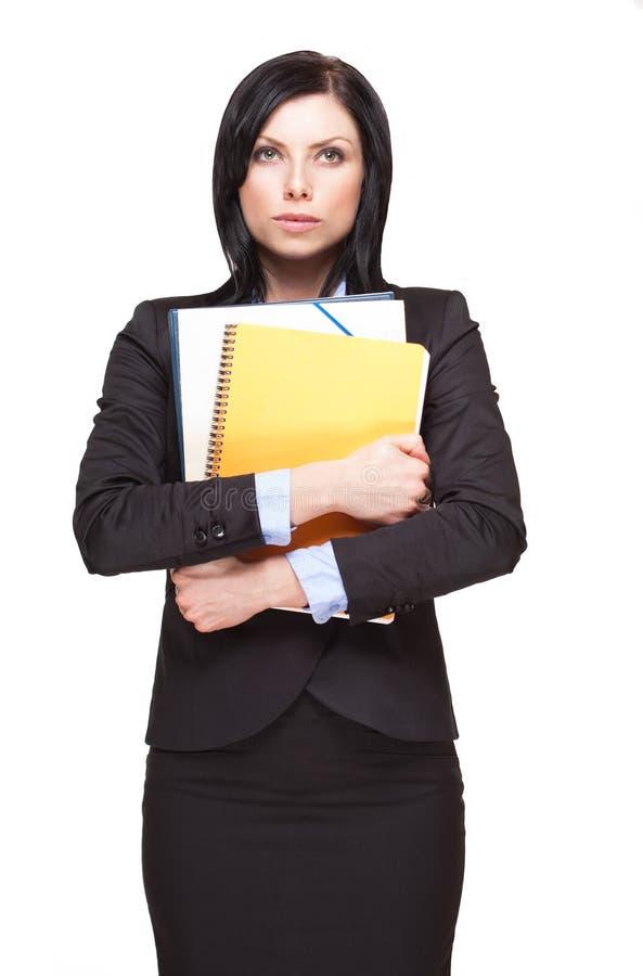 Femme d'affaires élégante. image libre de droits
