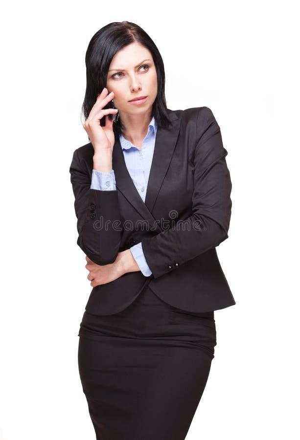 Femme d'affaires élégante. image stock
